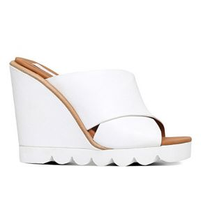 SEE BY CHLOE   Tiny chunky leather mules
