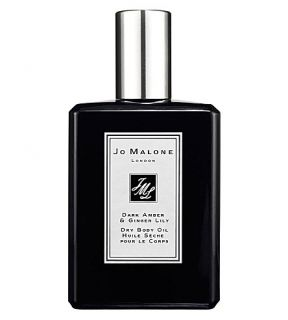 JO MALONE LONDON   Dark Amber & Ginger Lily dry body oil 100ml