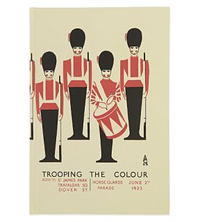 ROBERT FREDERICK   Trooping the colour A5 notebook