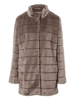 Basler Fake Fur Jacket Grey