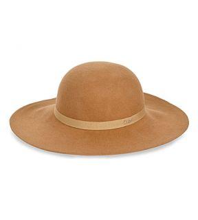 CHLOE   Wide brim wool blend hat