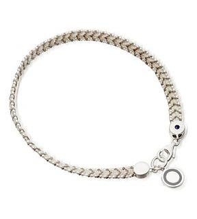 ASTLEY CLARKE   Silver thundercloud cosmos stones bracelet