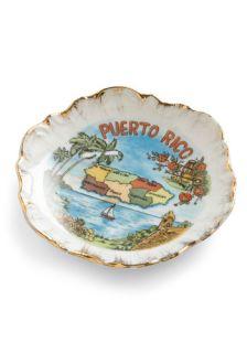 Vintage Treasured Island Dish  Mod Retro Vintage Vintage Clothes