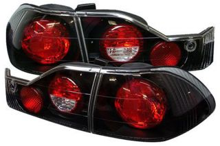 1998, 1999, 2000 Honda Accord Tail Lights   Spyder ALT YD HA98 BK   Spyder Euro Tail Lights