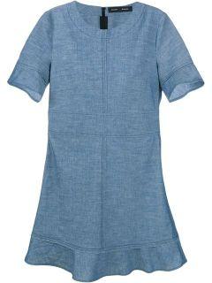 Proenza Schouler Denim Mini Dress   Browns