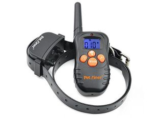Petrainer 210 Yards Remote Training E collar PET998N Rechargeable and Waterproof Dog Training Collar with Safe Beep and Strong Vibration Collar, NO STATIC SHOCK Function