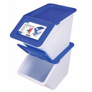 Find It Stackable Plastic Storage Box   13328773