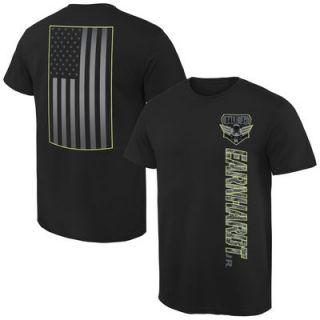 Dale Earnhardt Jr. Digi Camo Patriot T Shirt   Black