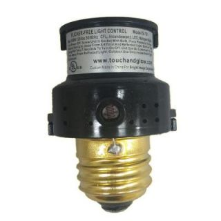 Defiant 150 Watt CFL/LED Indoor/Outdoor Automatic Dusk to Dawn Light Control   Black S751B