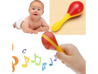 Plastic Egg Maraca Musical Early Educational Rhythm Toy Tool for Baby Kid Child