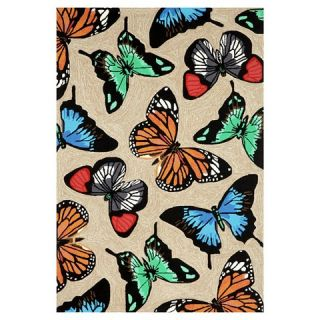 Liora Manne Frontporch Butterfly Dance Indoor/Outdoor Rug