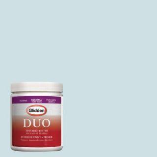 Glidden DUO 8 oz. #HDGB35 Tropical Surf Latex Interior Paint Tester HDGB35 08D