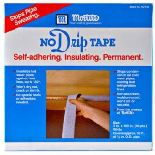 Mortite No Drip Pipe Tape, 30 Ft.: Model# NDT30