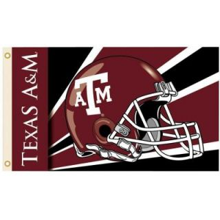 BSI Products NCAA 3 ft. x 5 ft. Helmet Texas A&M Flag 95330
