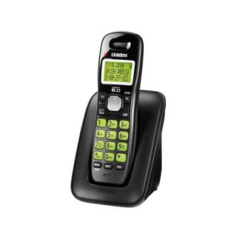 Uniden DECT 6.0 Cordless Phone with Caller ID and Backlit Keypad   DISCONTINUED D1364BK