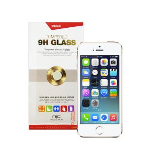 NIC 9H Tempered Glass Screen Protector for Apple iPhone 5/ 5s/ SE