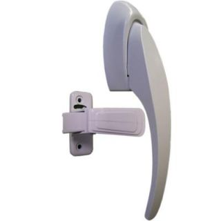 IDEAL Security White Painted Pull Handle Set SKCSW