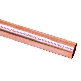 Mueller Streamline 3/4 in. x 60 in. Copper Type M Pipe MH06005
