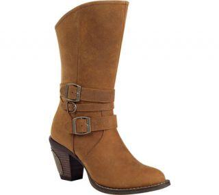 Womens Durango Boot RD036 11 Austin Triple Buckle Western   Camel
