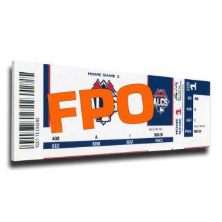 Kansas City Royals 2015 American League Champions Mega Ticket