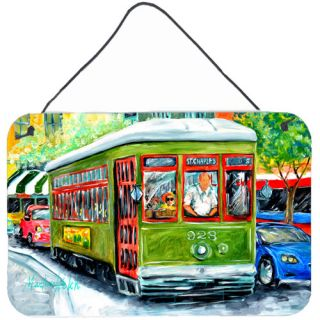 Street Car Aluminum Hanging by Martin Welch Painting Print Plaque by
