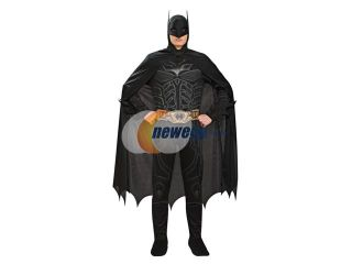Batman Black Jumpsuit Costume Adult Large 42 44