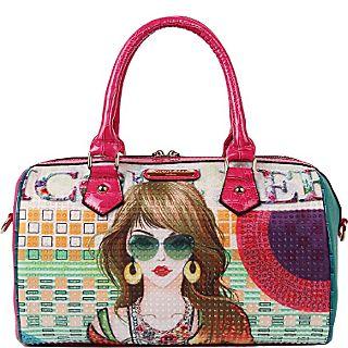 Nicole Lee Suzy Print Boston Bag