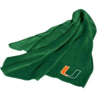 Logo Miami Fleece Throw Blanket 169 25