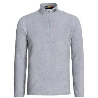 Hot Chillys La Montana Yoke Fleece Base Layer Zip Turtleneck (For Men) 7442C 46