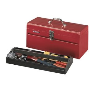 Stack On 20 inch Pro/ Contractor Steel All Purpose Tool Box Red