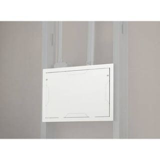 Chief PAC525FW In Wall Storage Box with Flange (White) PAC525FW