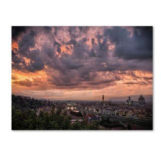 Giuseppe Torre Bloody Sky Canvas Art   15630616