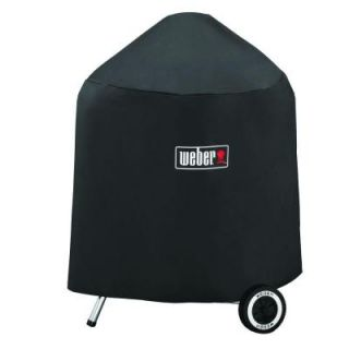 Weber Grill Cover with Storage Bag for 22 in. Charcoal Grills 7149