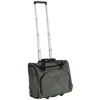 Atlantic Graphite Lite 3 Rolling Tote Bag   Carry On 5978Y 40