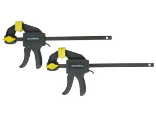 Olympia Tool 38 230 Olympia Tool 38 230 4 in. Mini Ratcheting Bar Clamp & Spreaders Set 2 Count