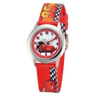 Kids Disney Cars Wristwatch   Red