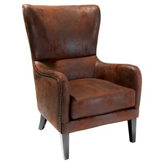 Christopher Knight Home Upholstered Chair Brown
