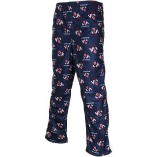 Fresno State Bulldogs Youth Team Logo Flannel Pajama Pants   Navy Blue