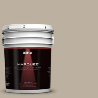 BEHR MARQUEE 5 gal. #750D 4 Pebble Stone Flat Exterior Paint 445405