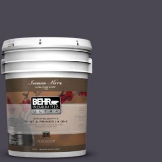 BEHR Premium Plus Ultra 5 gal. #N560 7 Limoscene Matte Interior Paint 175305