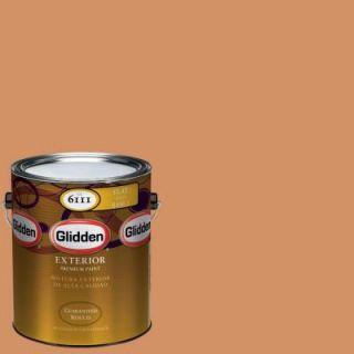 Glidden Premium 1 gal. #HDGO47 Maplewood Trail Flat Latex Exterior Paint HDGO47PX 01F