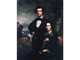 Mr. and Mrs. Daniel T. MacFarlan Poster Print by Theodore E. Pine (1827–1905) (18 x 24)