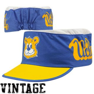 Mitchell & Ness UCLA Bruins College Vault Media Day Painters Hat   Light Blue