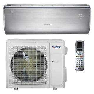 GREE Crown 12,000 BTU Ultra Efficient Ductless Mini Split Air Conditioner with Heat and Heat Pump   230V/60Hz CROWN12HP230V1A