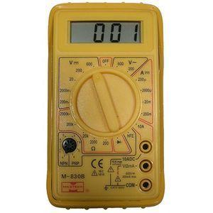 Mode Pocket Digital Multimeter   3 & 1/2 Digits, Diode Test, Transistor Test, Protective Holster    81 020 1