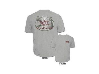 Swamp People See Ya Later Alligator Heather Gray Mens T Shirt