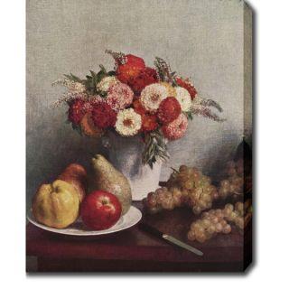 Henri Fantin Latour Stilleben mit Blumen und Früchten Oil on Canvas