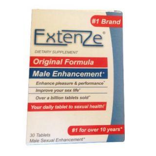 Extenze Original Formula Male Enhancement Tablets For Sexual Health   30 Ea