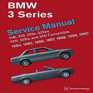 BMW 3 Series Service Manual 1984 1990