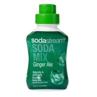 SodaStream 500ml Soda Mix   Ginger Ale (Case of 4) 1100471010